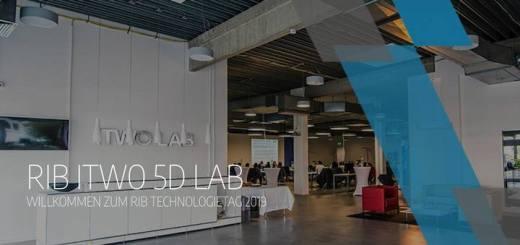 Beim RIB Technologietag 2019 geht es um Digitalisierung, Big Data und BIM