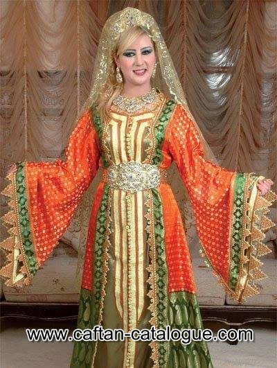 Caftan du Maroc en Algérie