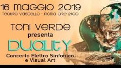 Toni Verde Duality al Teatro Vascello