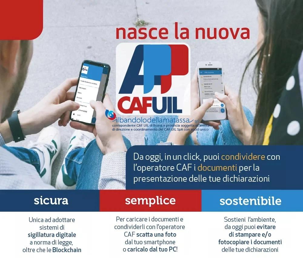 nasce la nuova app CAF UIL