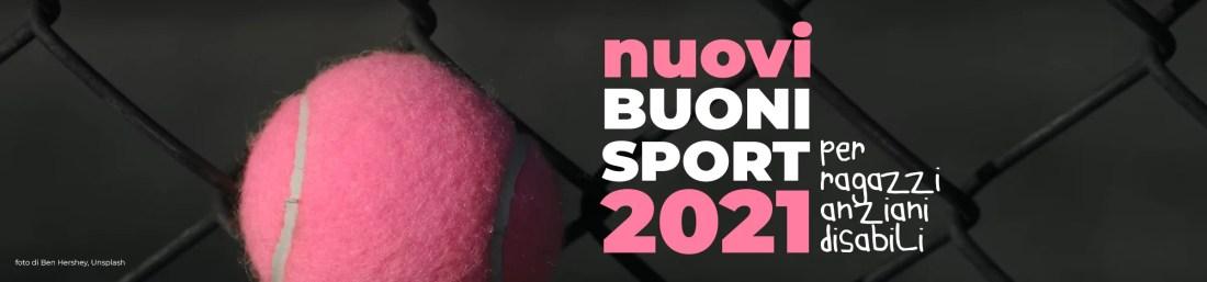 slide nuovi buoni sport 2021