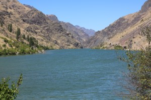 The Snake River in Hells Canyon