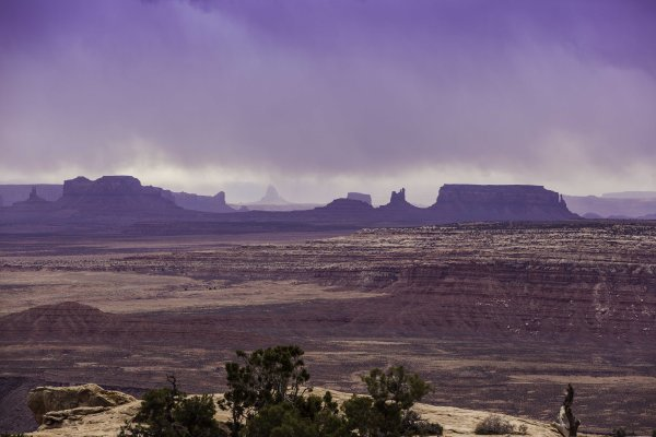 View of Monument Valley from Muley Point