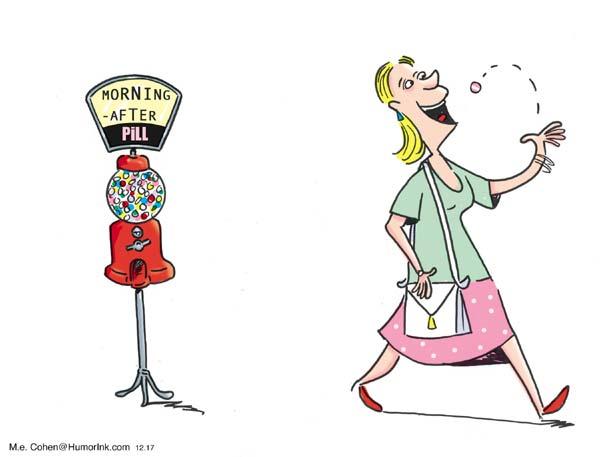 Morning After Pill Cartoon