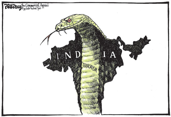 I am reminded of Govindacharya's reading on this situation ... (Cartoon by - Bill Day; courtesy - cagle.com.).