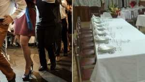 """Dopo la cena al ristorante il """"trenino"""" e in cento escono senza pagare il conto"""
