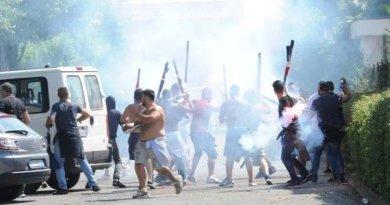 Daspo di otto anni per gli scontri di Brescia- Cagliari