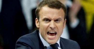 "Migranti. Macron faccia da schiaffi: ""Salvini arrogante apri i porti!"""