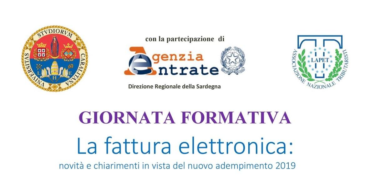 Cagliari. I tributaristi all'Università per la fattura elettronica