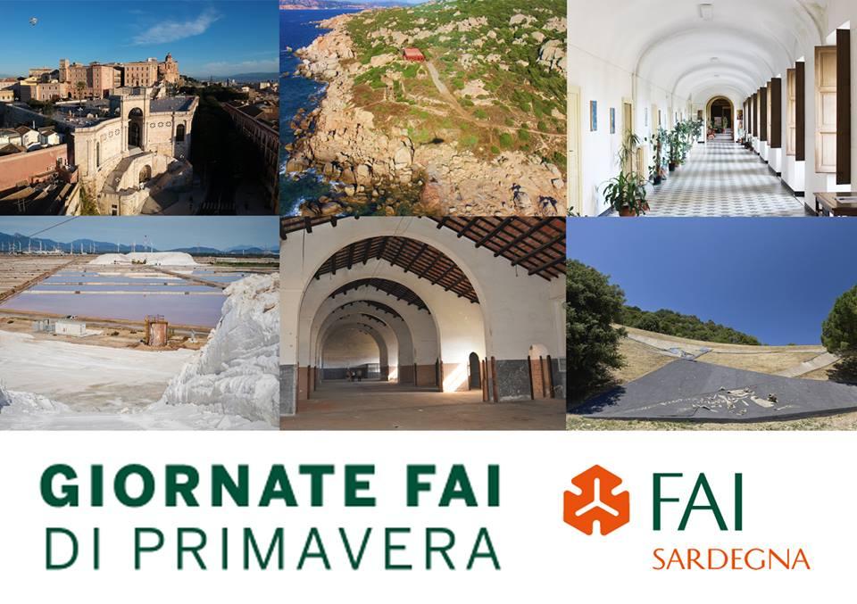 Giornate FAI 2019 in Sardegna: i siti aperti al pubblico