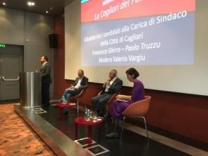 Cagliari. Dibattito pubblico tra i candidati sindaci, Ghirra e Truzzu