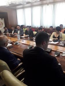 Lavoratori Porto Canale, delegazione in Consiglio regionale