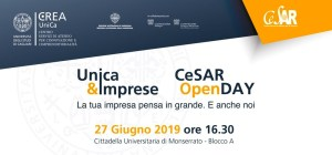 Camera di Commercio presente a Unica&Imprese e CeSAR OpenDay