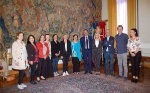 Al Municipio di Cagliari  amministratori provenienti da Francia, Polonia, Croazia Spagna e Portogallo