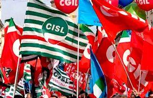 """Cgil, Cisl Uil: """"Azioni della Giunta inadeguate"""""""