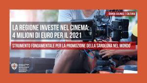 Sardegna. La Regione investe nel cinema 4 milioni di euro per il 2021