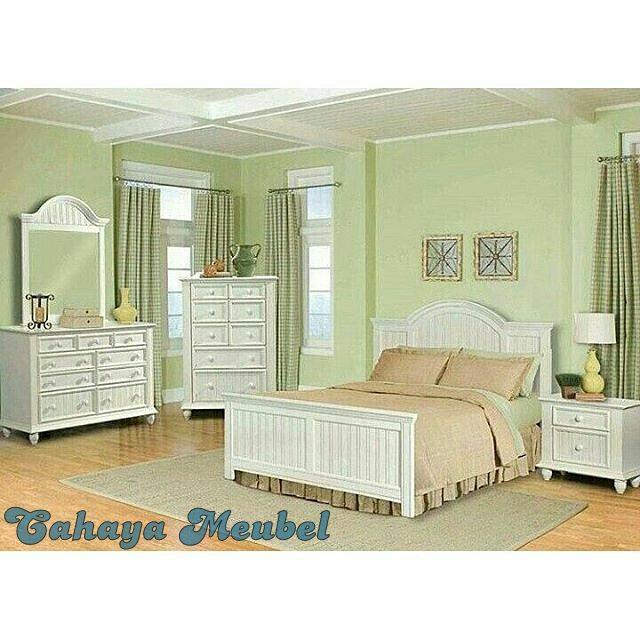 Set Kamar Tidur Minimalis Putih Duco Jepara