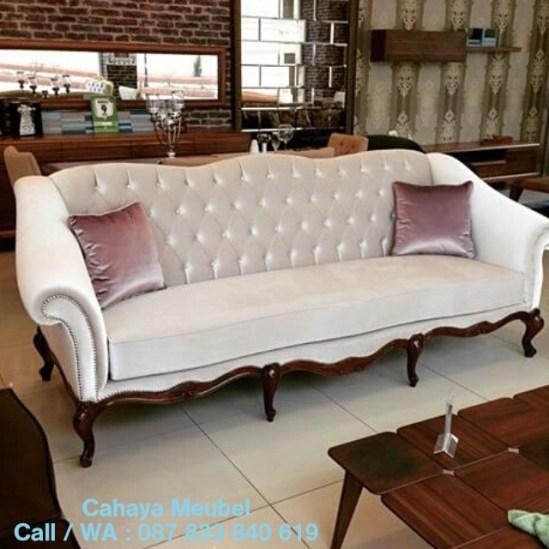 Sofa Ruang Tamu Klasik Ukir Jepara