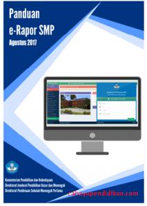 Download Panduan Aplikasi Rapor Elektronik e Rapor SMP K13