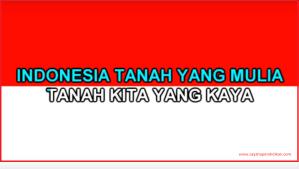 Lirik Lagu Indonesia Raya Lengkap Tiga Stanza