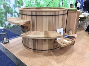 Cedar with steps