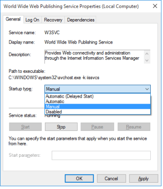 Setting Services