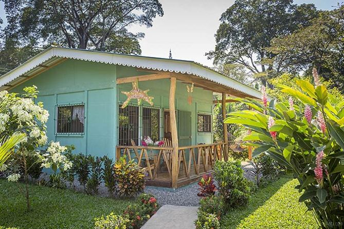 Cabinas New Caribe Point en Cahuita