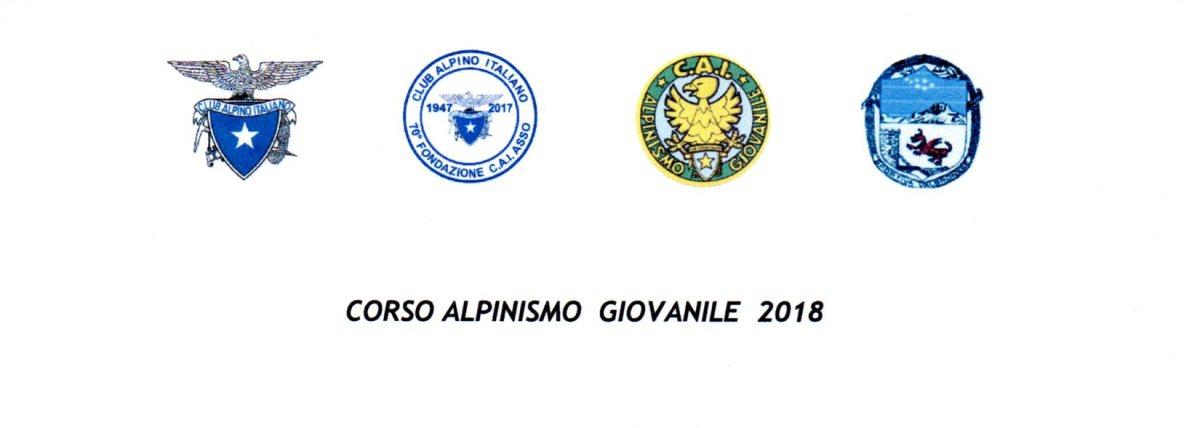 CORSO ALPINISMO GIOVANILE 2018