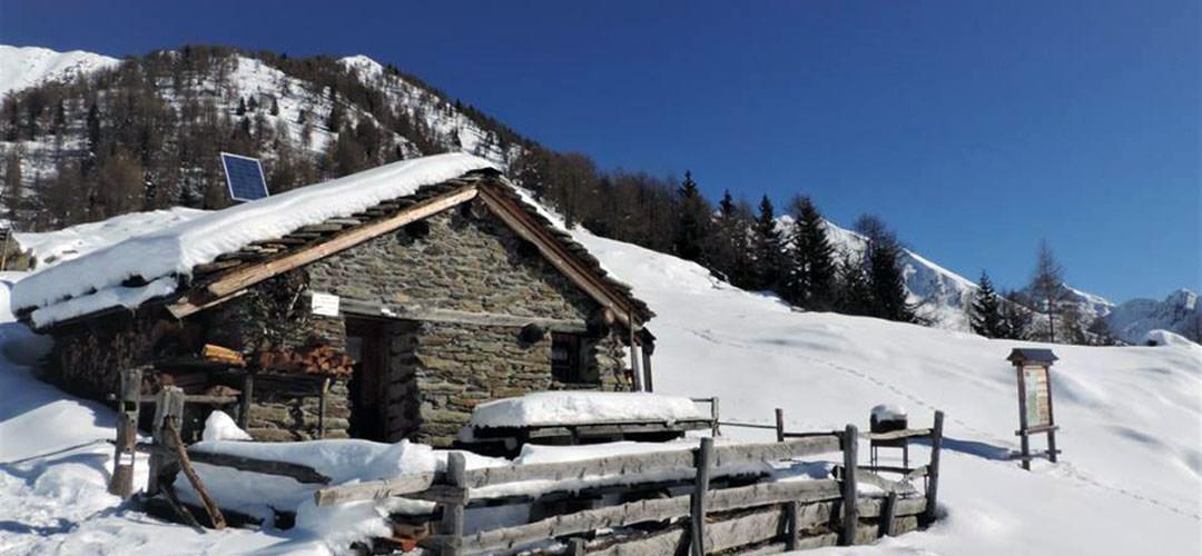 25 febbraio 2018 Bivacco Gusmeroli – Val Tartano (Ciaspolata)