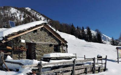 25 febbraio 2018 – Bivacco Gusmeroli, Val Tartano (Ciaspolata)