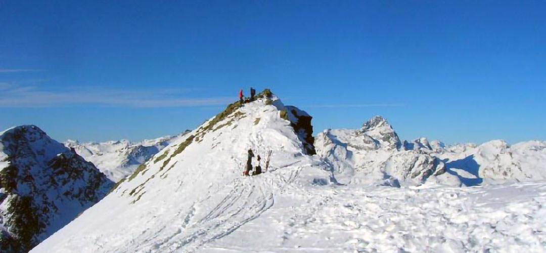 25 marzo 2018 · Piz Campagnung, Val d'Agnel (Ciaspolata)