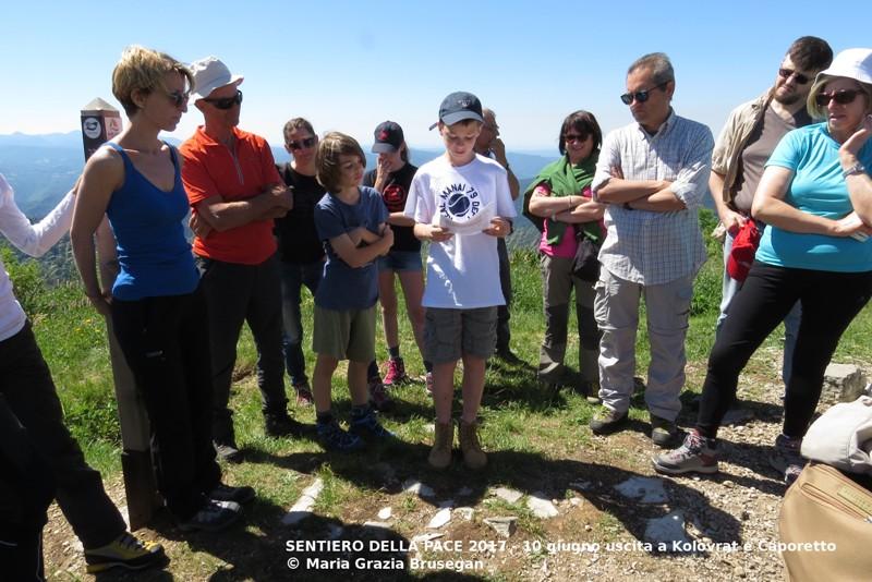 05 Sentiero della Pace 2017 Kolovrat-Caporetto IMG_2556