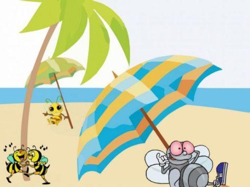 albine în vacanță