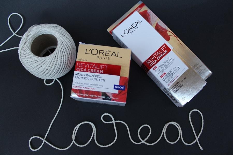 creme L'Oréal Paris Revitalift Cica Cream