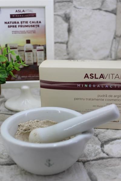 Pudra de argilă Aslavital Mineralactiv