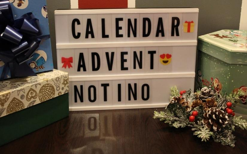 calendar de advent reduceri Notino