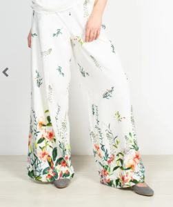 pantaloni largi de vara