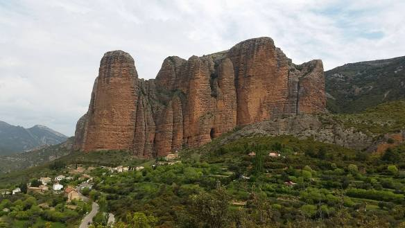 Riglos towers