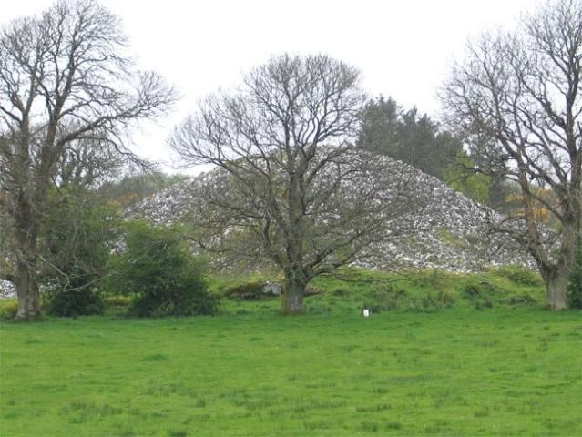 The healing well of Bride heapstown cairn (2009)