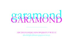Garamond, la classe et l'humanisme