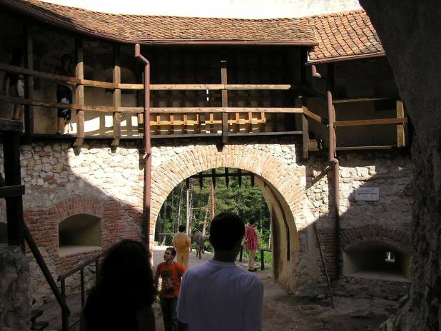 Acces Cetatea Rasnov