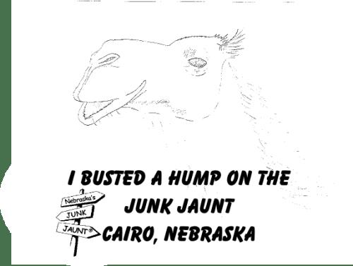 Junk Jaunt t-shirt