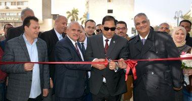 رئيس جامعة طنطا يفتتح أعمال تطوير كلية التربية