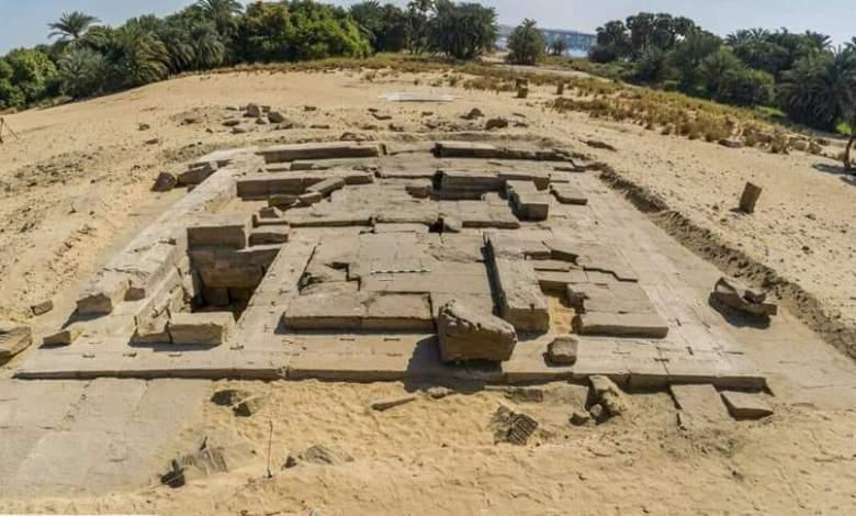 معبد روماني بمنطقة كوم الرصرص