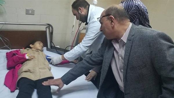 إصابة تلاميذ مدرسة بئر شمس الإبتدائية بتسمم