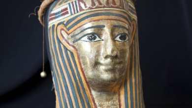 قطع أثرية مصرية بمدينة نابولي الإيطالية