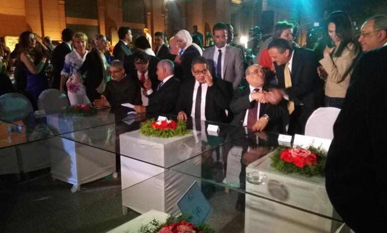 افتتاح مركز زاهي حواسللمصريات