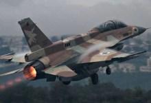 الجيش الإسرائيلي يقصف سوريا ردًا على الهجوم الصاروخي