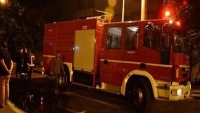 مصدر أمني: الحريق بعيد عن المطار وناجم عن انفجار خزاني وقود بشركة بتروكيماويات