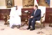 الرئيس السيسي وولي عهد أبو ظبي